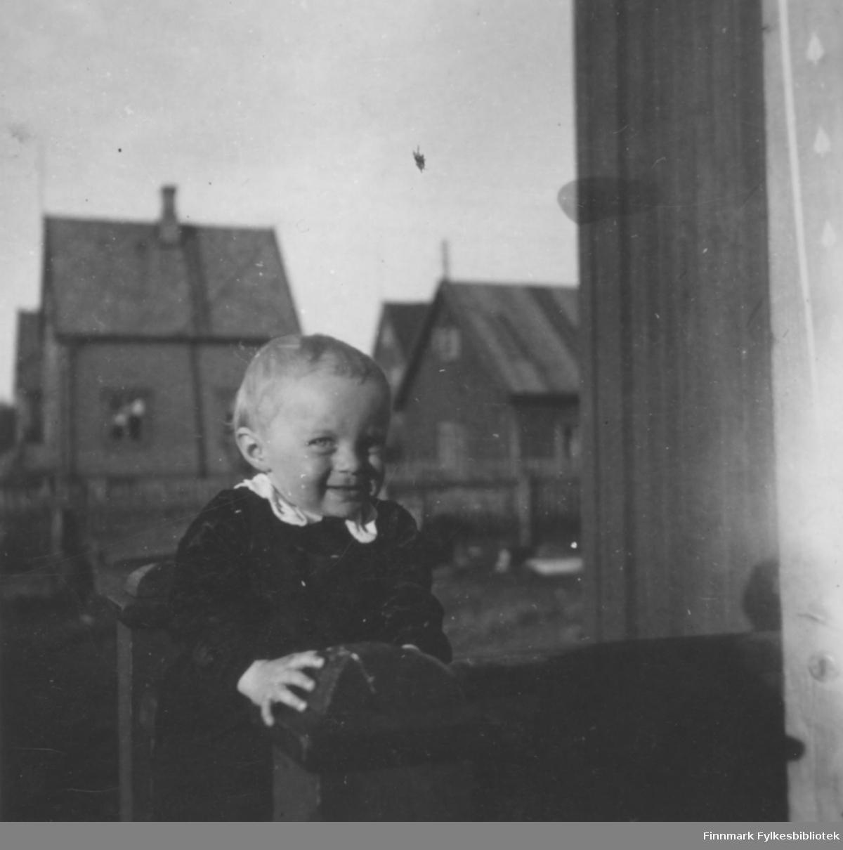 Per-Olav Ollila i Kirkenes i alder 1 år 6 mnd.