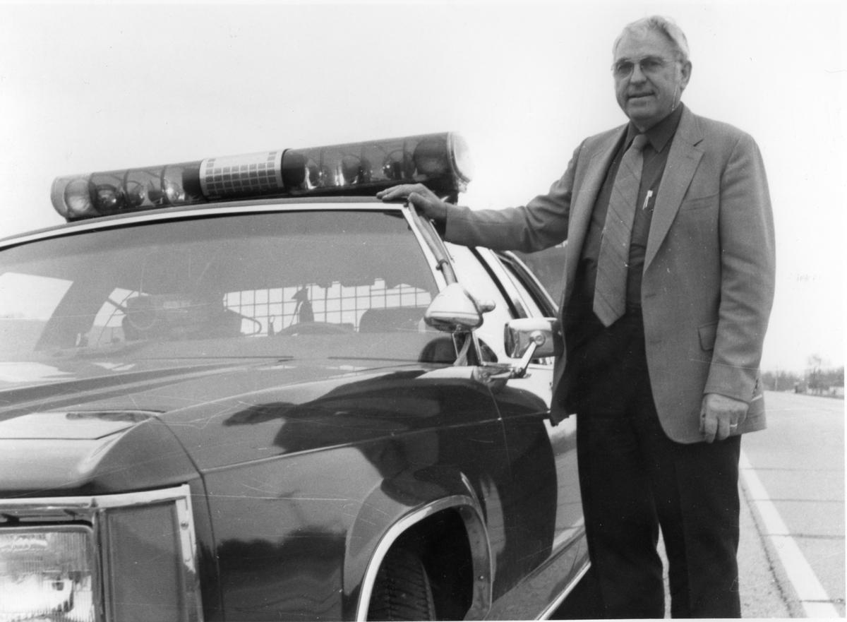 Sheriff Noble E. Kleven (1925-2007), Trempealeau County, Wisconsin