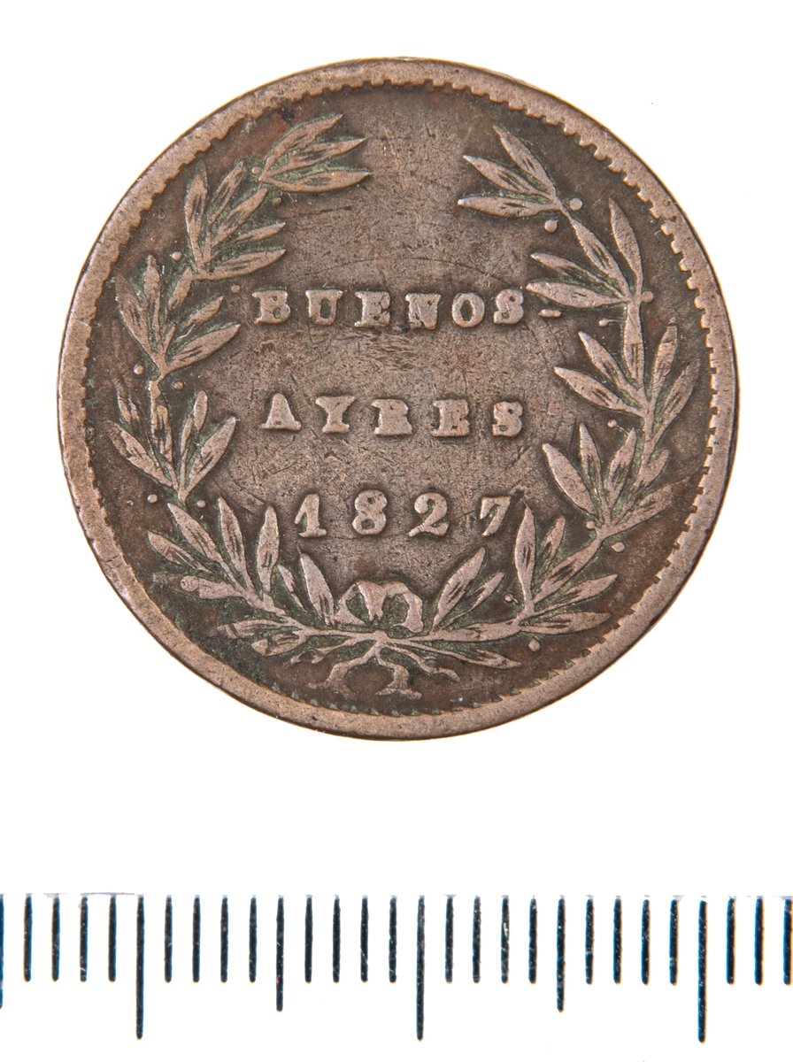 Mynt, Buenos Aires Argentina, 1827.