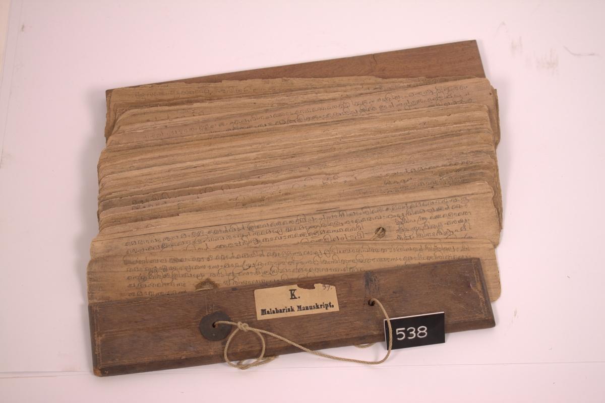 Malebarisk manuskript