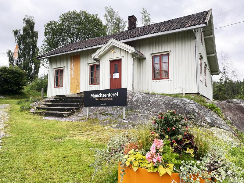 Munchsenteret i Løten (Foto/Photo)