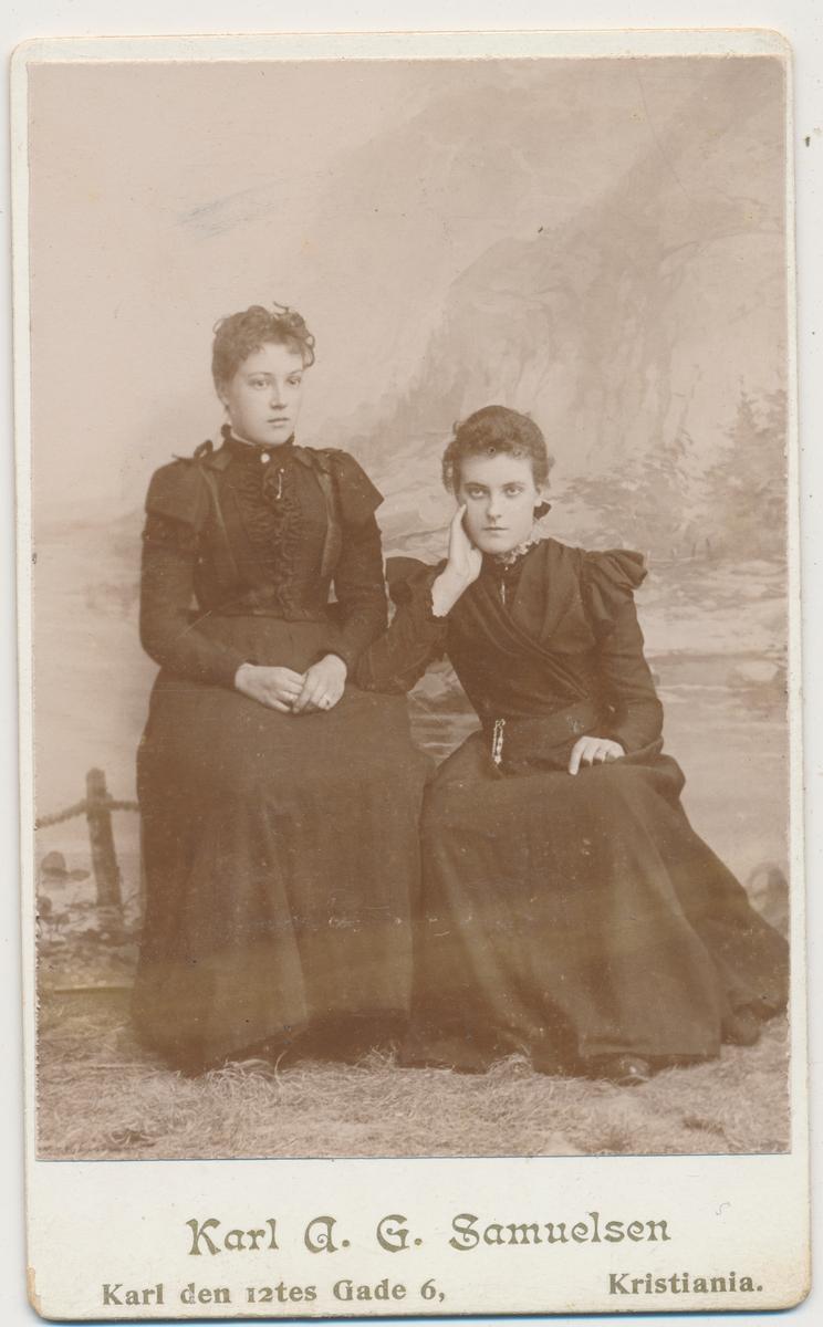 To unge kvinner, ukjente