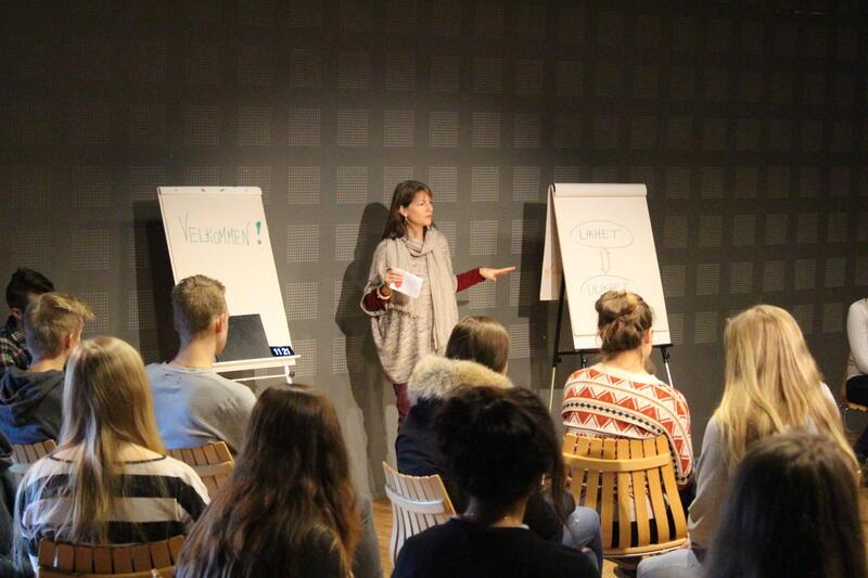 Fagdag med Eidsvoll VGS - dialogtrening (Foto/Photo)