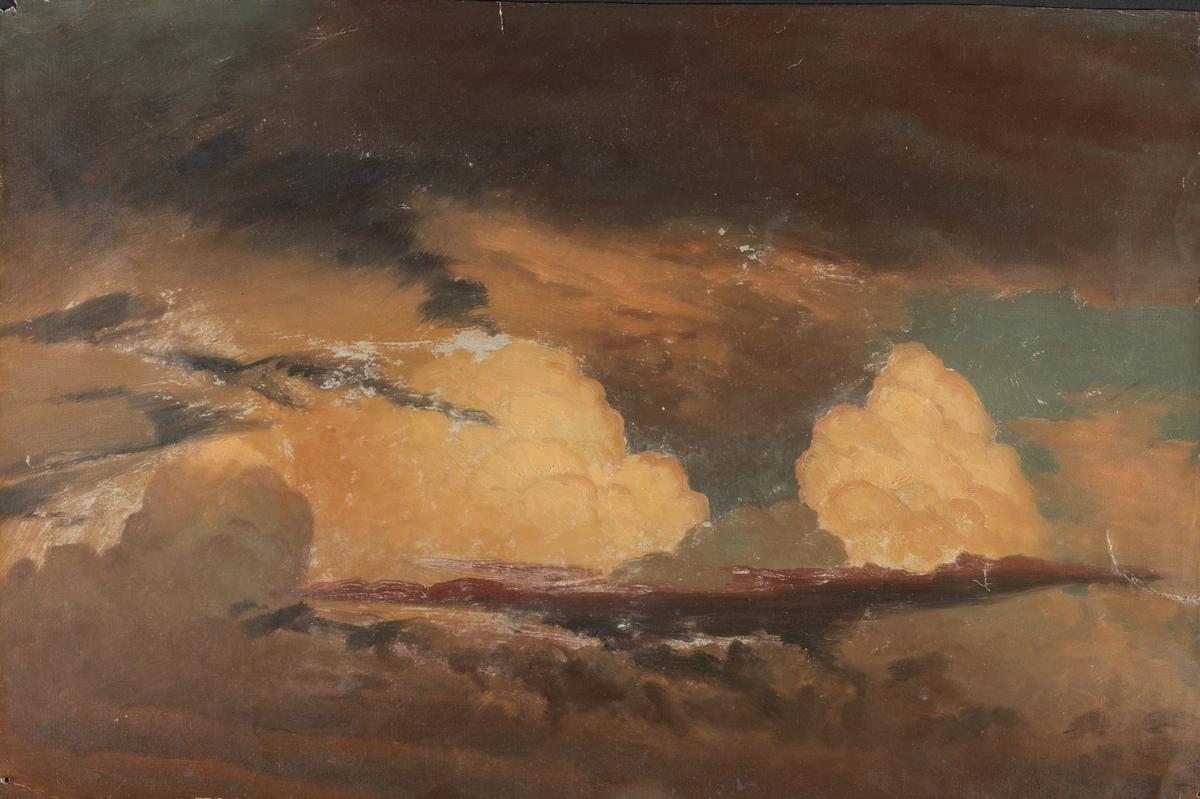 Skystudie [Maleri]