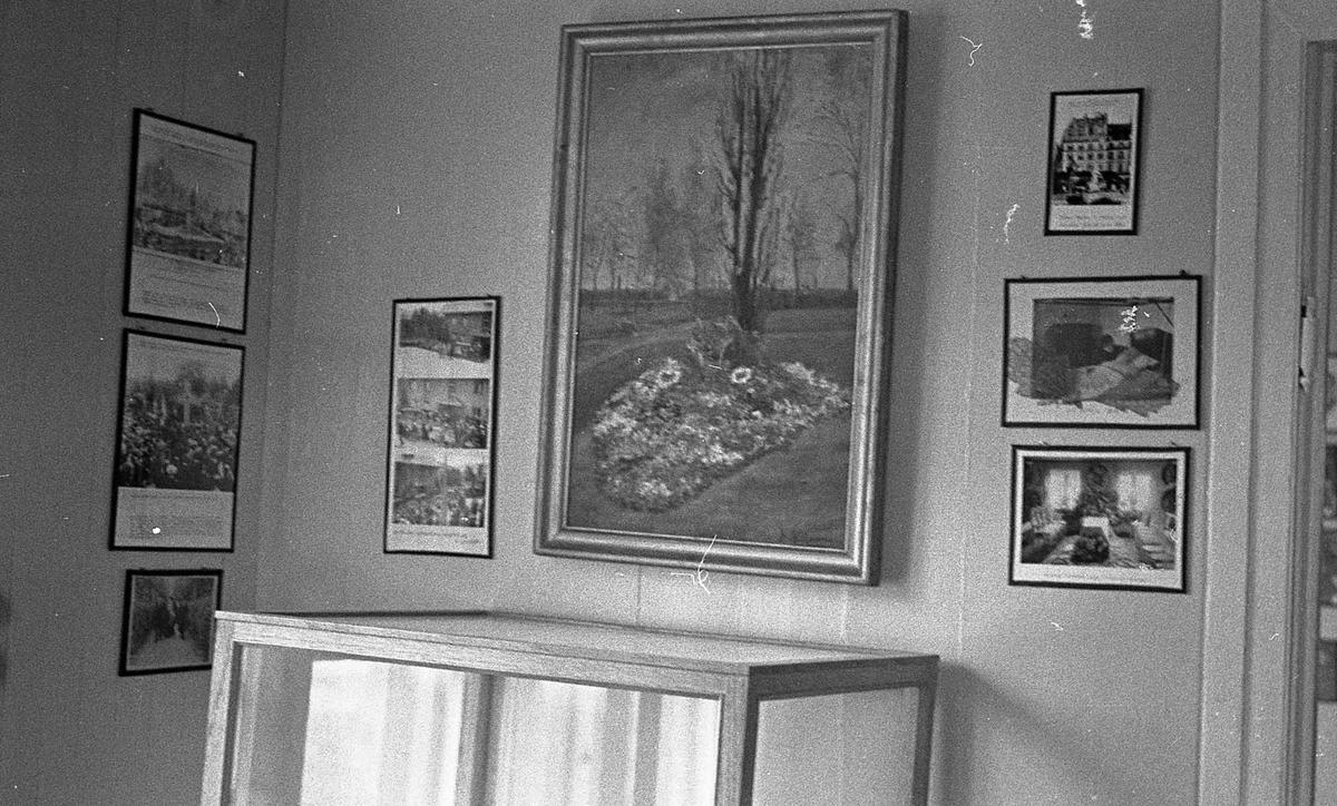 DOK:1971, Aulestad, interiør, monterværelse, fotografier,
