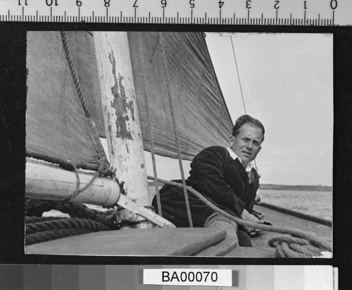 Arne Bjørnson-Langen, båt,