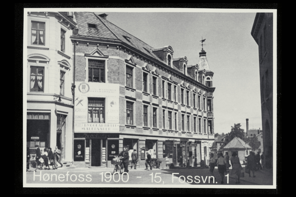 eksteriør, postkontor, 3500 Hønefoss