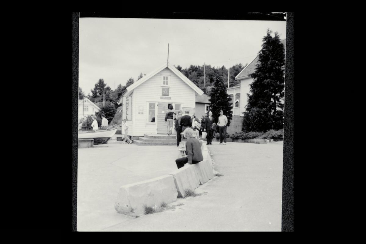 eksteriør, brevhus, Kjøpmannsvika, postskilt