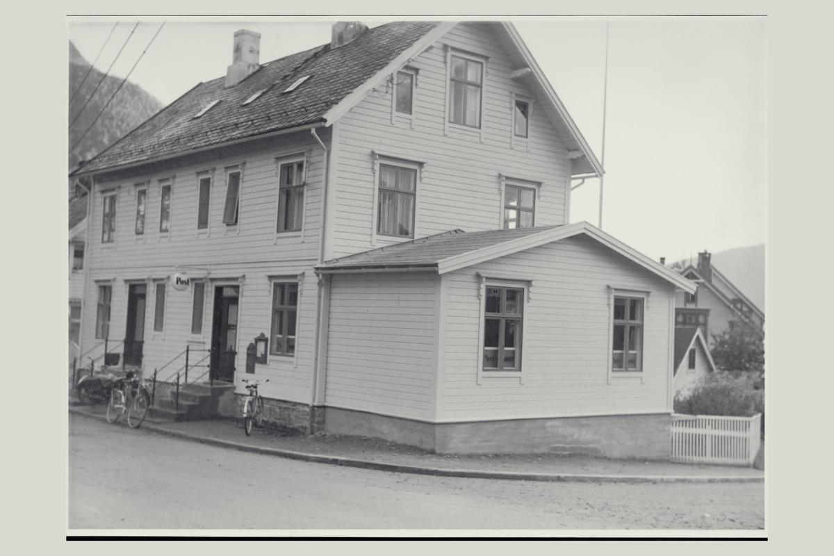 eksteriør, postkontor, 6100 Volda, postskilt