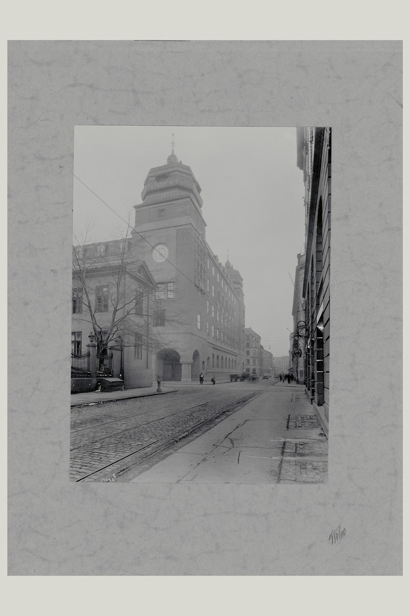 eksteriør, postkontor, Oslo postgård