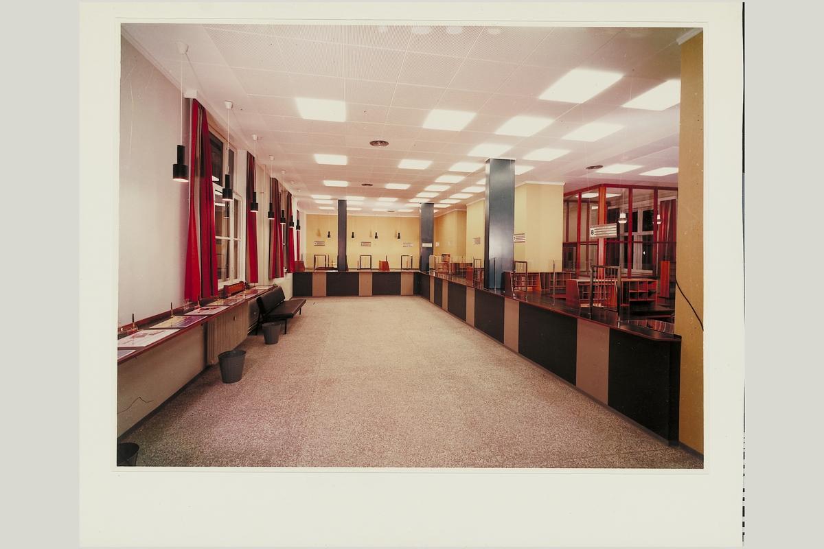 interiør, postkontor, 4604 Kristiandsand S, publikumshall