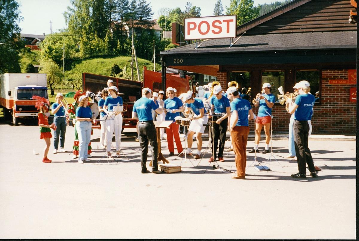 personale, velferd, Oslo postorkester, Skui postkontor