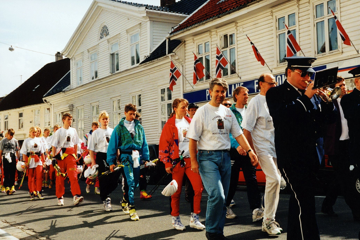 begrepet personale, postidrett, Flekkefjord, rulleskiløp