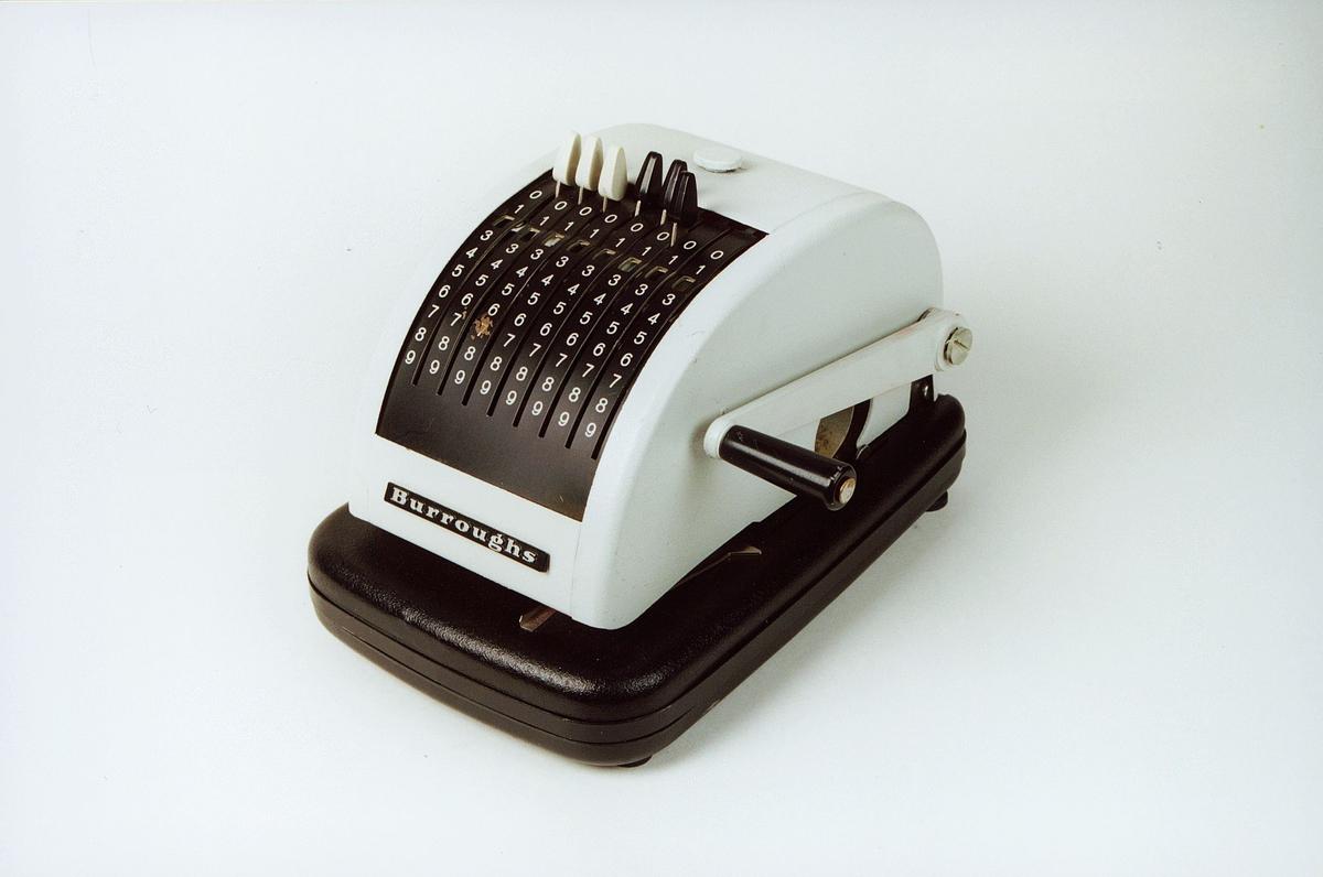 Postmuseet, gjenstander, sikringsmaskin, Burroughs T60 185096468.