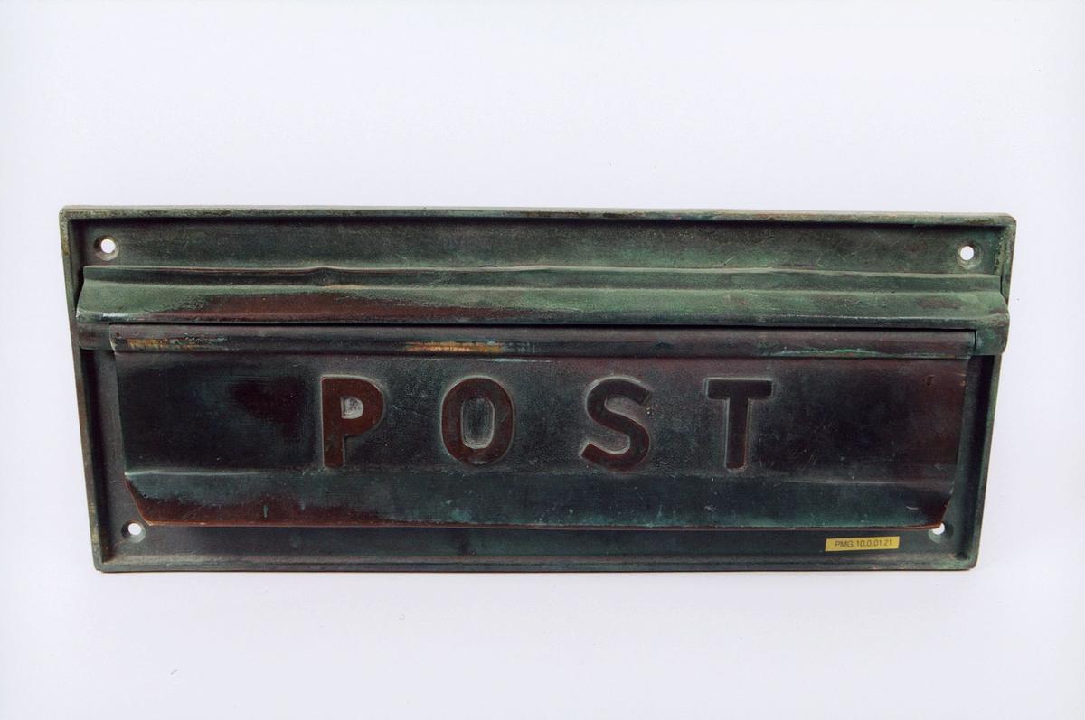 postmuseet, gjenstander, innstikk postkasse
