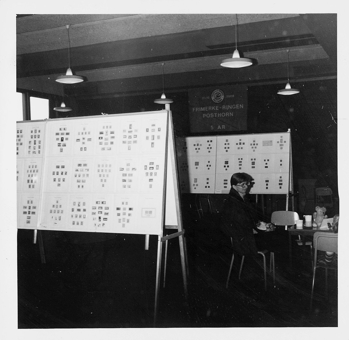 markedsseksjonen, Frimerkets dag '73, Trosterud skole, Frimerke-Ringen Posthorn 5 år, filateli