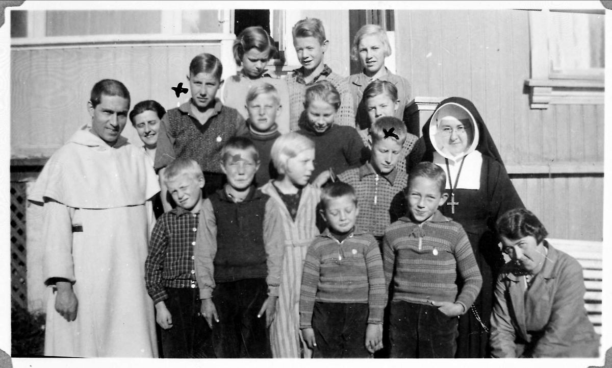 Dominikaner, prest, St.Torfinn, barn, nonne