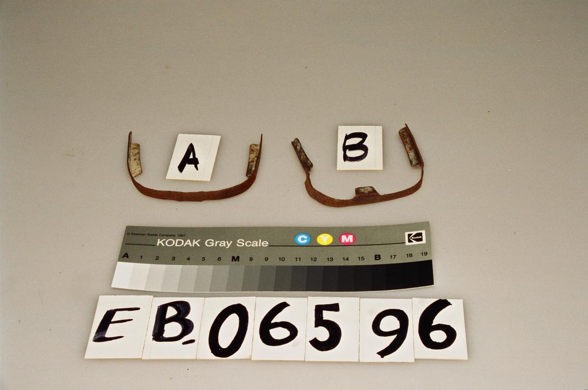 Form: flat bue, ni hull