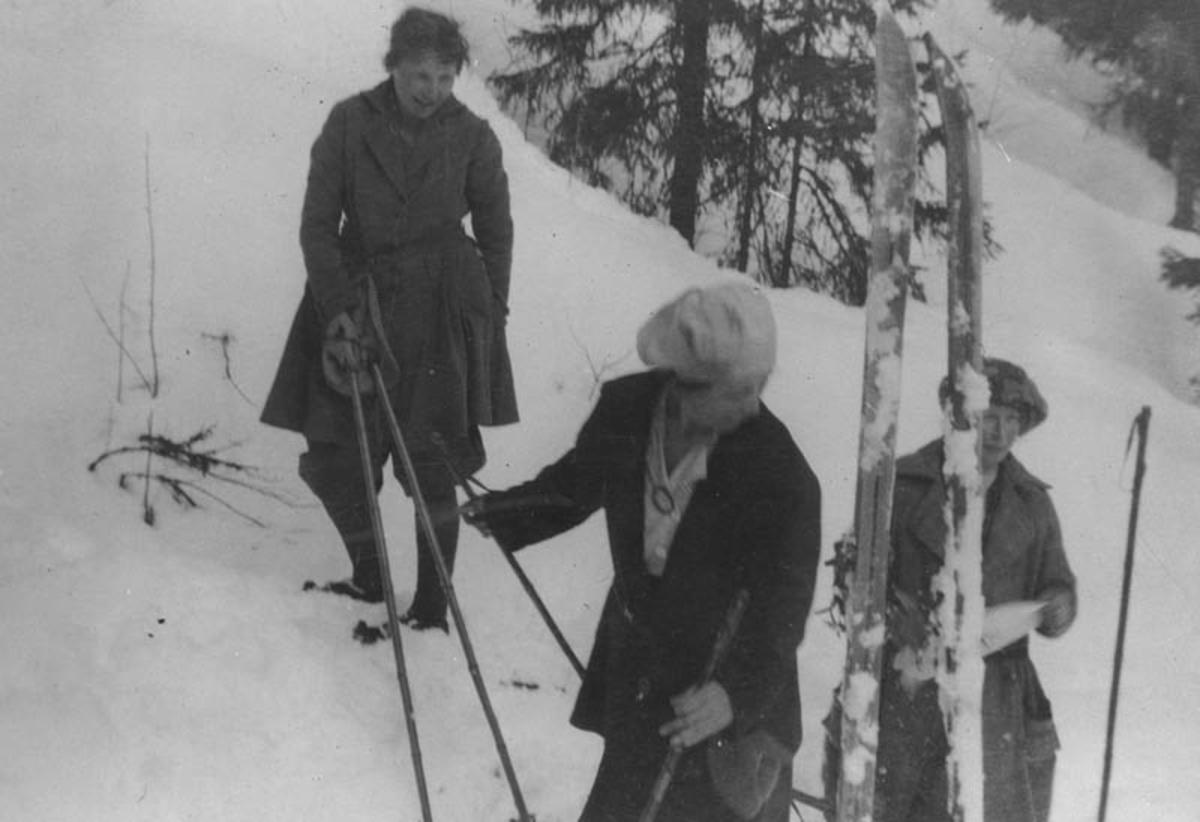Søndagstur til Rausjømarka 1923/24.