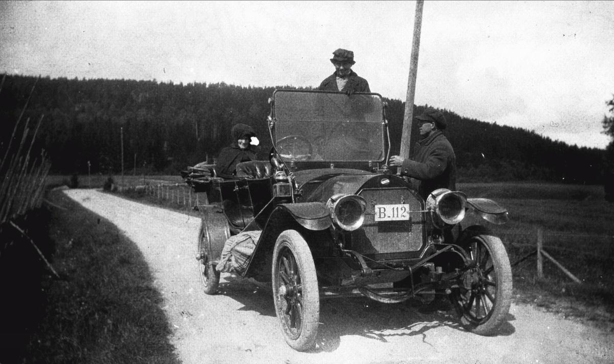 På biltur til Ørje med Fam. Eriksen.