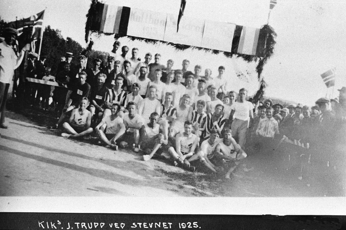 KIK's jubileumstrupp ved stevnet 1925