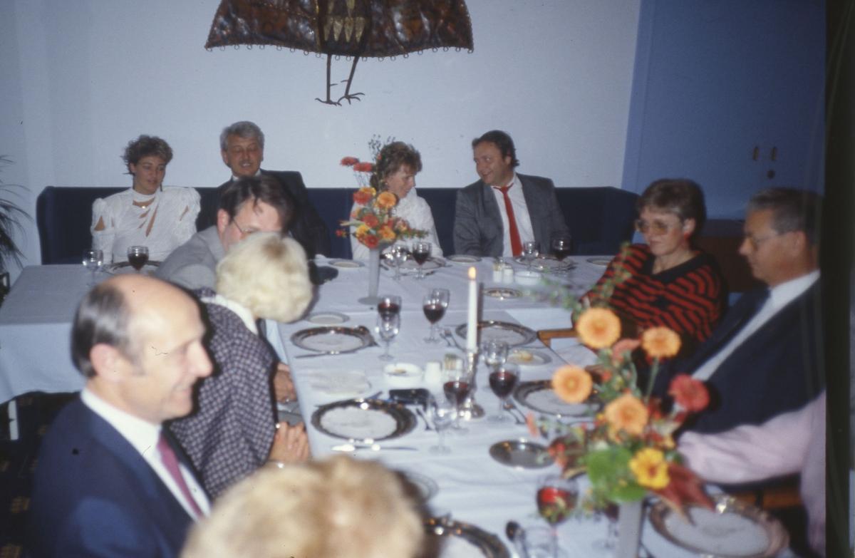 Under middagen i Randers.