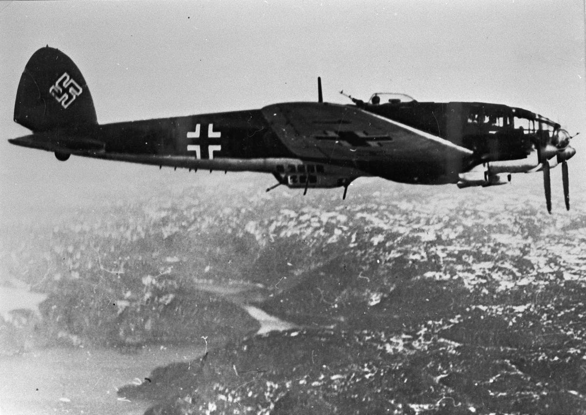 Tysk krigsfly.