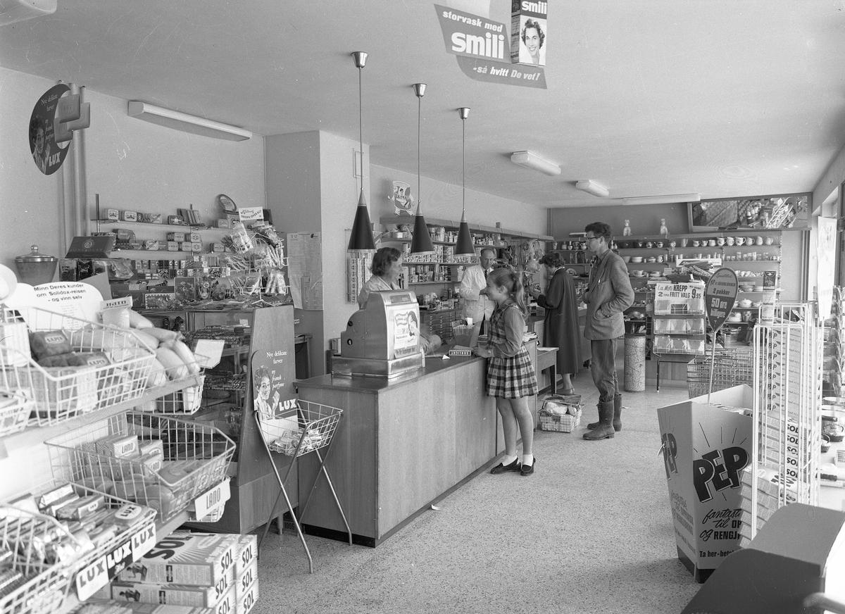 Landhandel. Etter sept. 1957 – da Olav V ble konge.