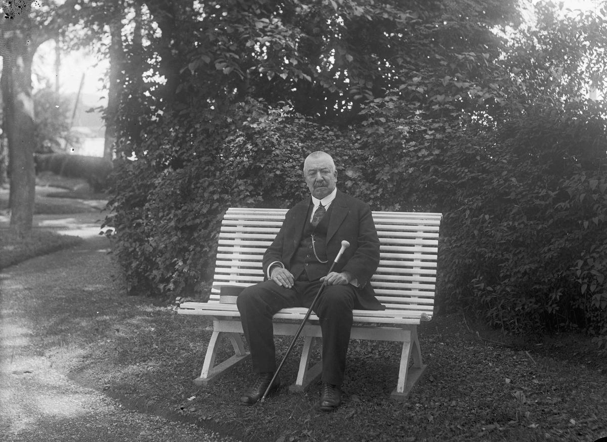 Adolf Rogneby, Kraby, portrett