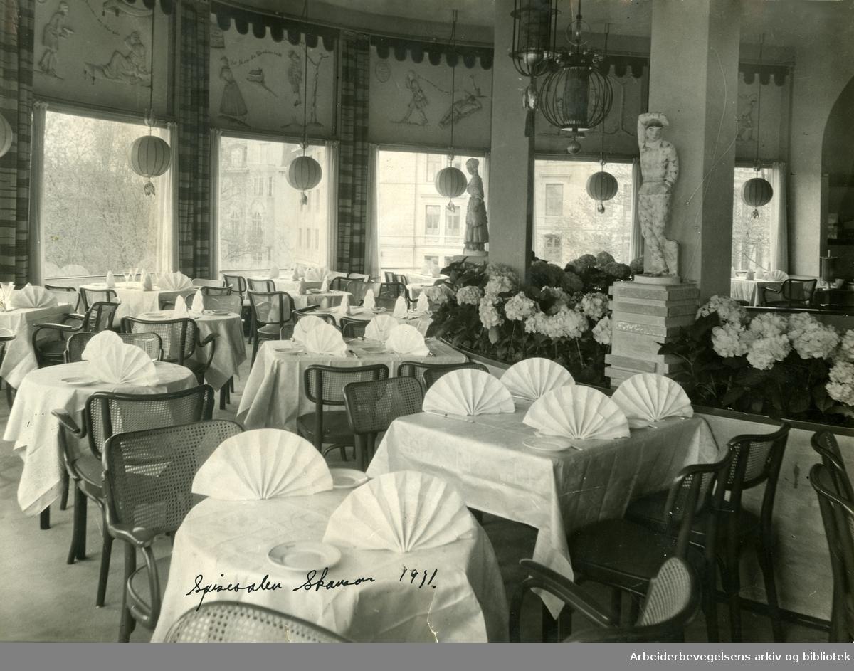 Spisesalen på Skansen,.1931