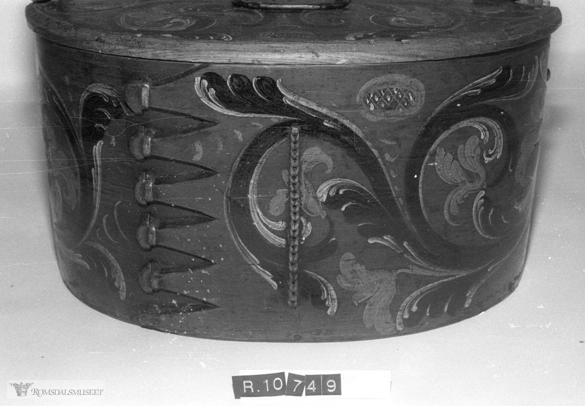 49 (Gammelt reg nr), Tine, Laup ..Ola Bøs samling fra Bø i Måndalen, Rauma gnr 117-1...R.10600-R.10859...Bilder tatt i forbindelse til gjenstandsregistrering.