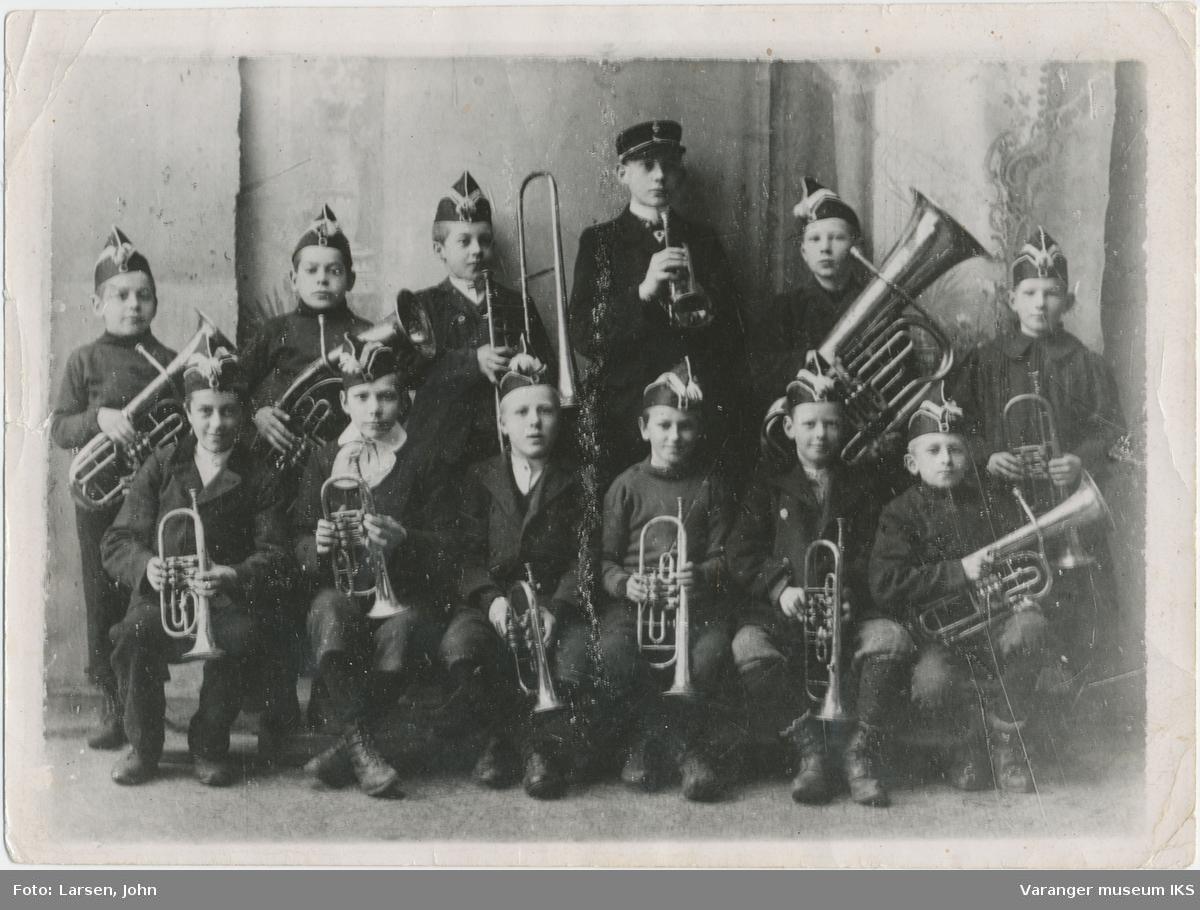 Guttemusikkorps fra Vardø, 1905 eller 1906