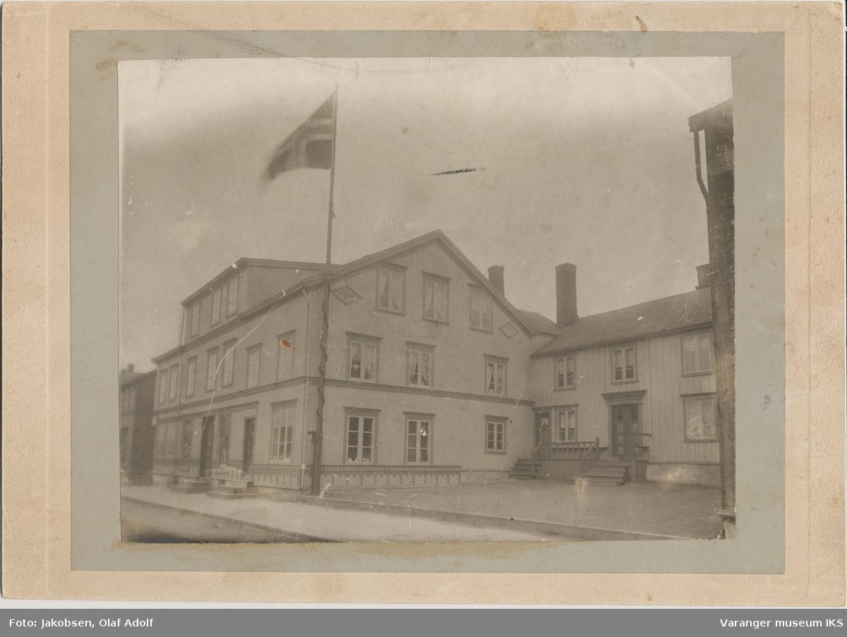 Hotellet i Strandgata, ca. 1910