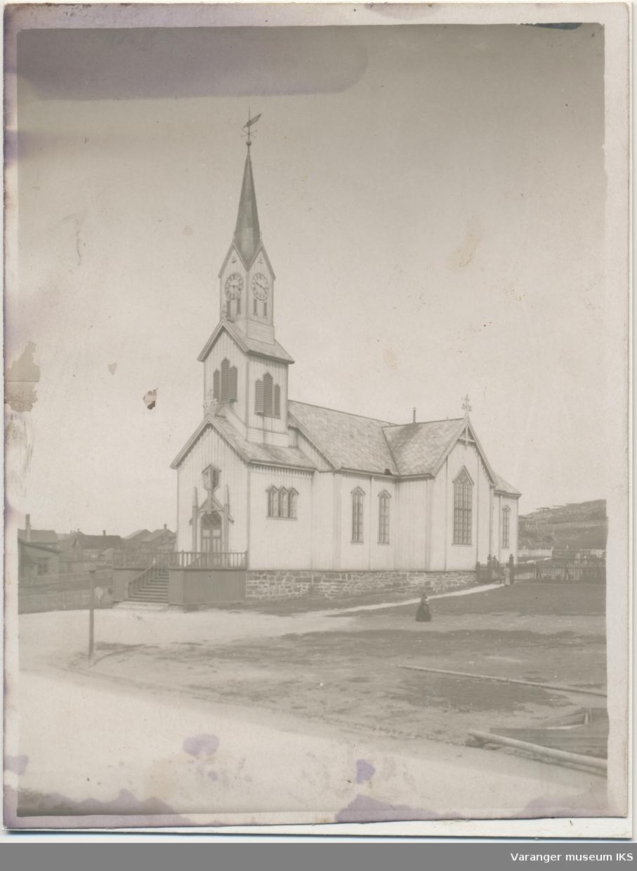 Vardø kirke sett mot nordvest