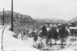 Viadukten på Fagerlibanen
