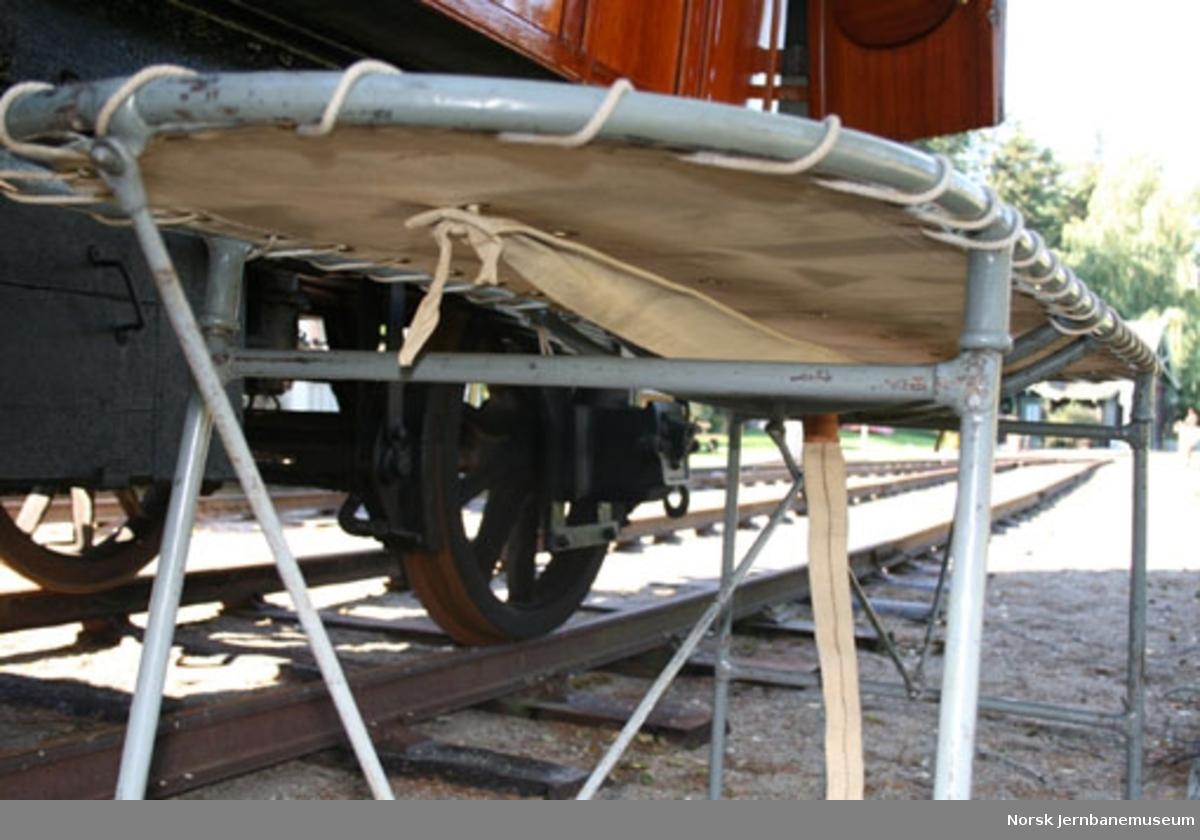 Sanitetsvogn Zu 405 - beredskap ved toguhell
