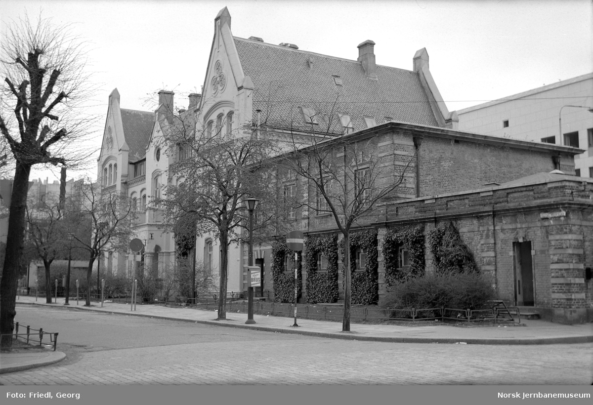 Bergen gamle stasjonsbygning