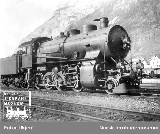 Sveitsisk damplokomotiv type G4/5 nr. 2801