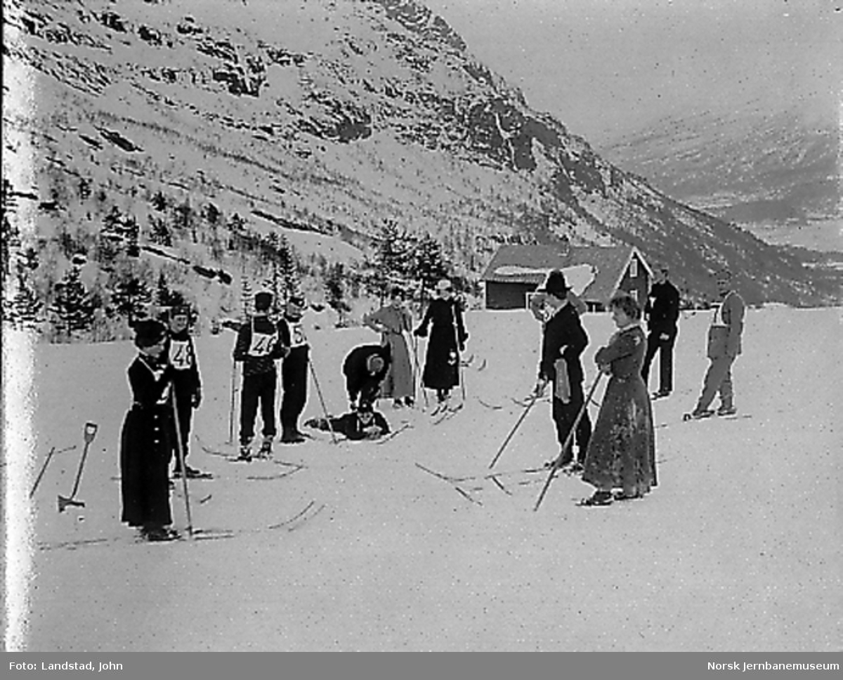 Skirenn ved Skihytten på Voss