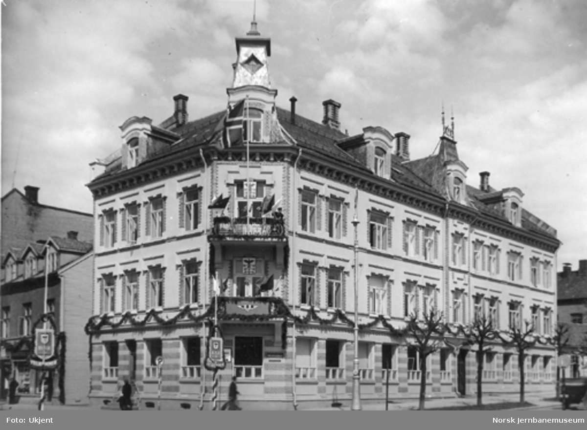 Hamar distrikts administrasjonsbygning i Parkgata