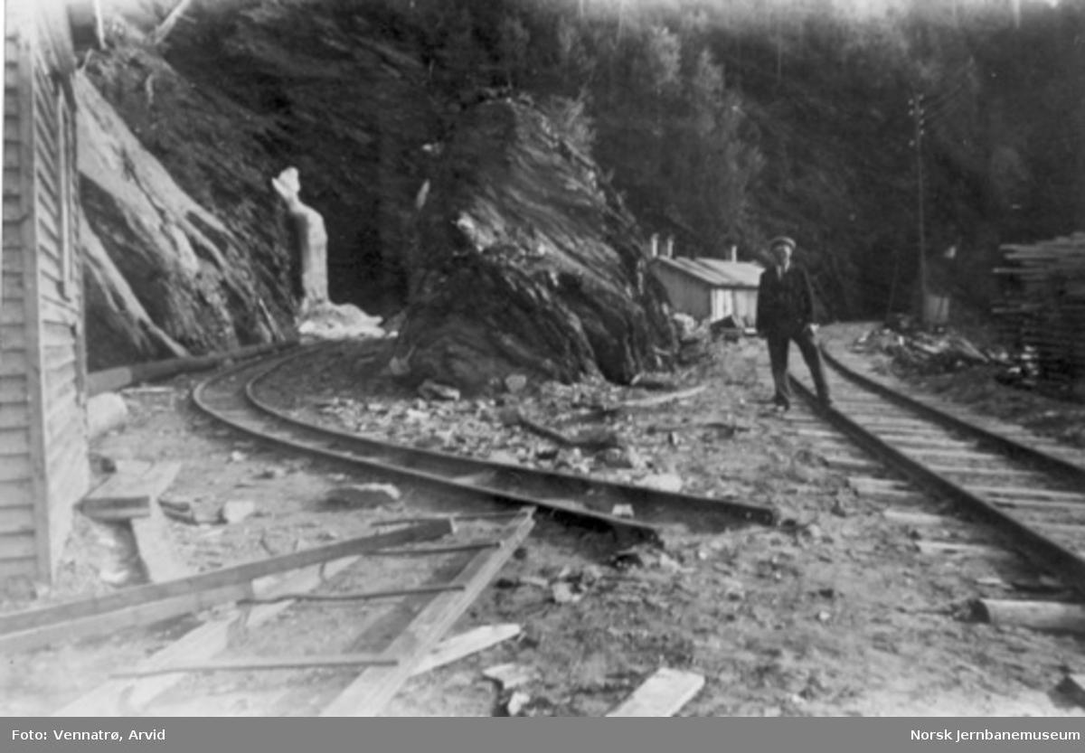 Nordre tunnelinnslag til Drøili tunnel