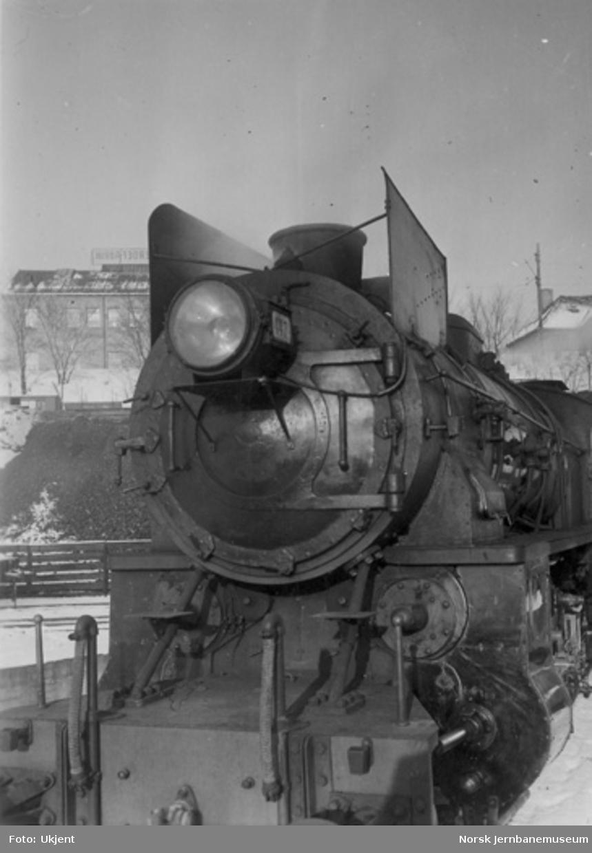 Røykskjermer på damplokomotiv nr. 447