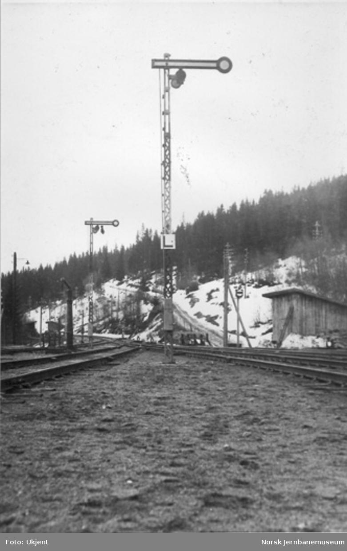Semaforsignaler Roa stasjon