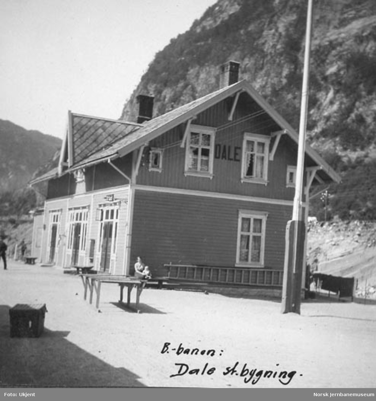 Dale stasjonsbygning