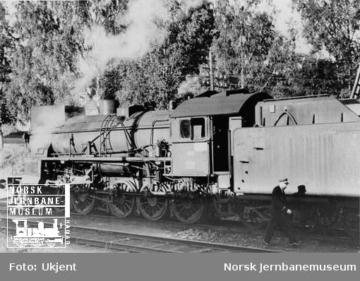NSB damplokomotiv type 31b nr. 452