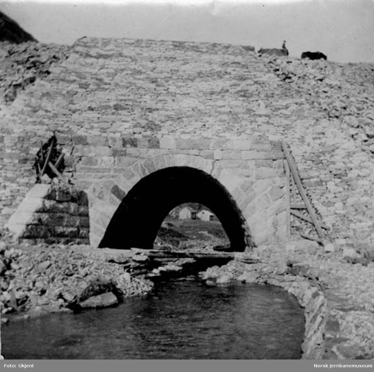 Kulvert for Myrdøla ved Myrdal stasjon