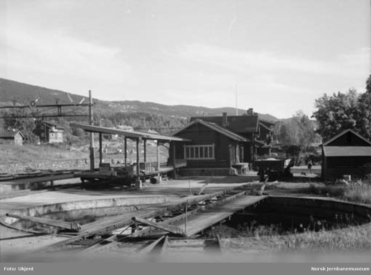 Jaren stasjon : svingskive