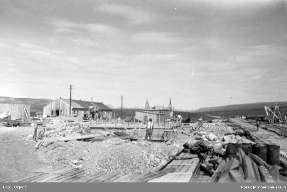 Bygging av Stødi stasjon