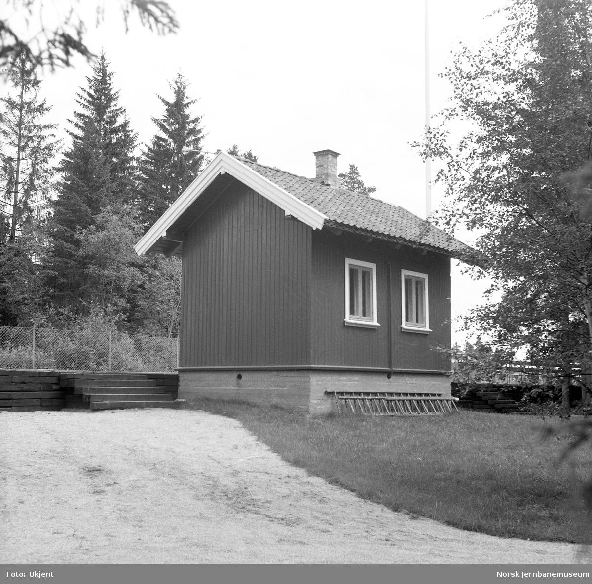 Killingmo stasjonsbygning på Jernbanemuseet