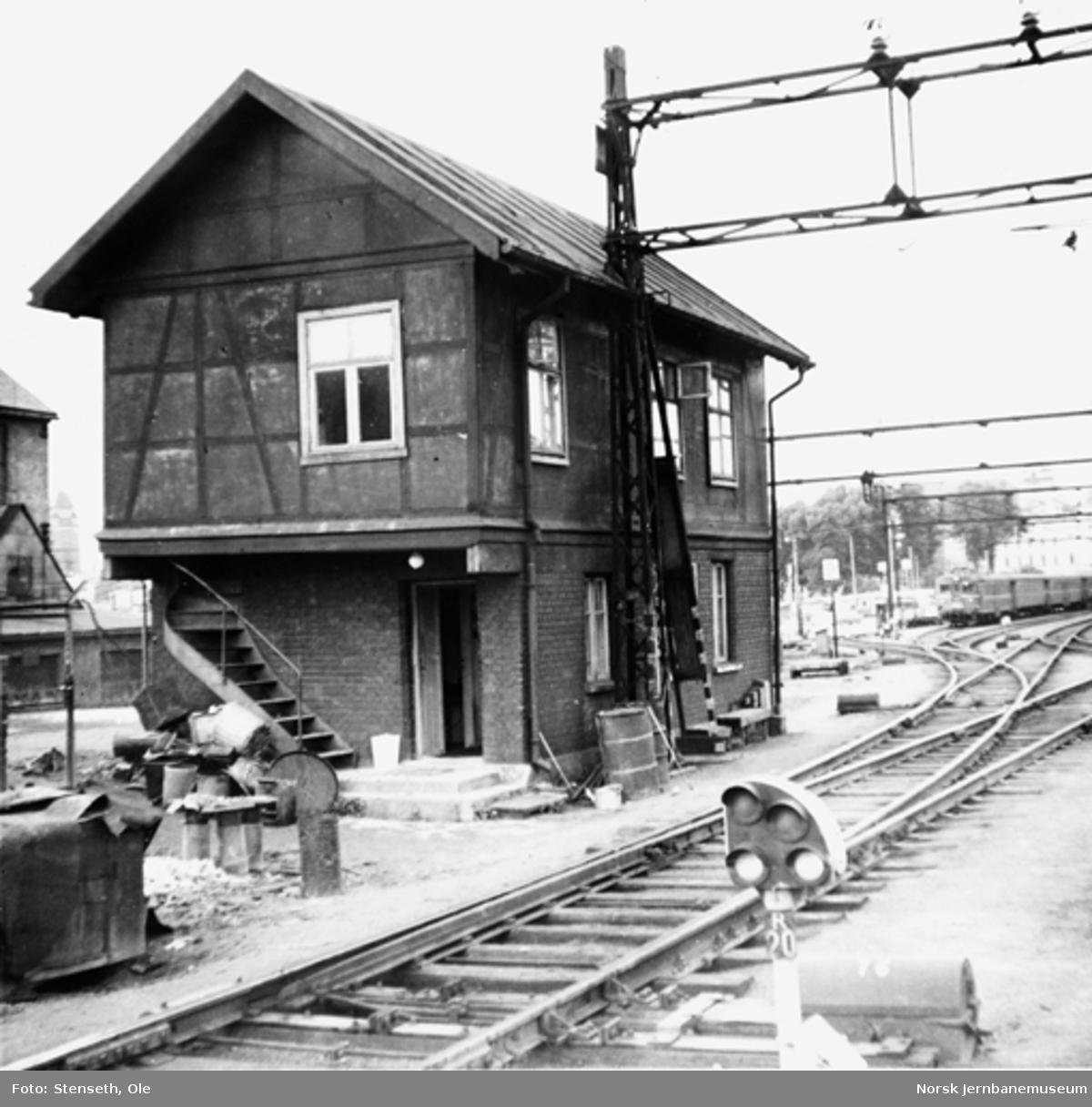Stillverk på Oslo Ø, revet 1962